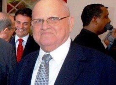 Afrísio Vieira Lima morreu nesta madrugada.