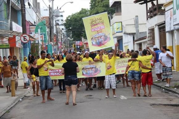 Bloco vai promover sátira política e conscientização na avenida (Foto Divulgação).