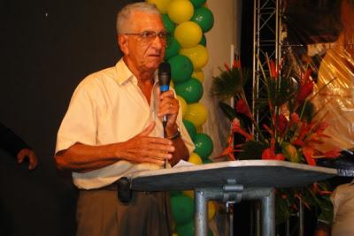 Joaquim Torquato faleceu nesta madrugada (Foto Pablo Nascimento).