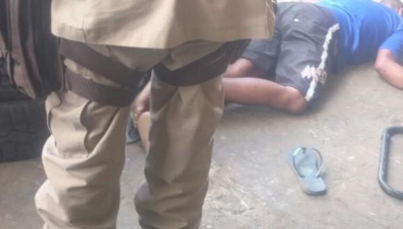 Homem foi executado quando visitava uma borracharia (Foto Reprodução).