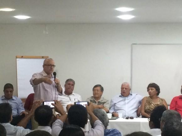 Encontro petista definiu pré-candidaturas em 11 municípios (Foto Divulgação).
