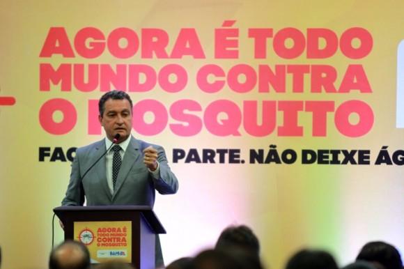 Governador convoca empresariado contra a dengue (Foto GovBA).