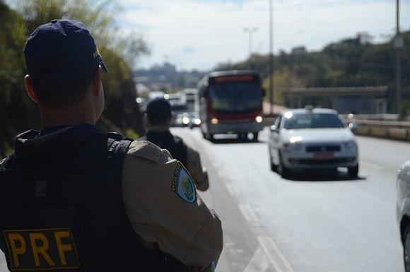 PRF aponta menos acidentes e mortes em estradas federais baianas (Foto Divulgação).