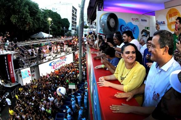 Rui Costa diz que não há disputa política com ACM Neto (Foto GovBA).