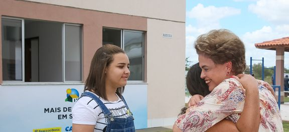 Dilma participou de cerimônia em Feira de Santana (Foto Planalto).
