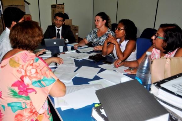 Procurador apresentou planilhas aos professores (foto Wilson Oliveira / Ascom-PMI)