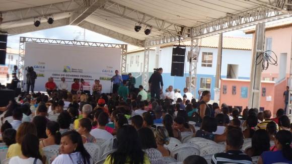 Cerca de 900 imóveis são entregues na região de Ferradas, em Itabuna (Foto Divulgação).