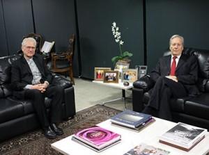 Bispo se reuniu ontem com o presidente do STF, Ricardo Lewandowski