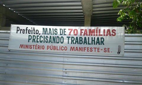 Central está fechada há mais de um ano para reformas. Demora na conclusão prejudica 70 famílias