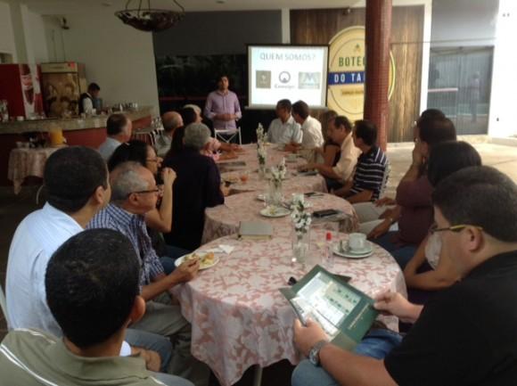 Projeto e novos empreendedores foram apresentados aos corretores (Foto Divulgação).