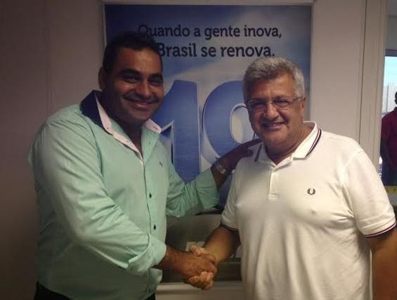 Elinho e João Carlos Bacelar discutiram sucessão em Buerarema.