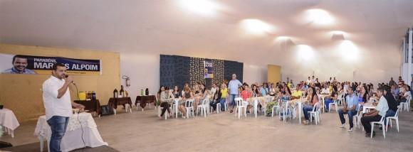 Alpoim lançou pré-candidatura ontem na área verde da Gávea.