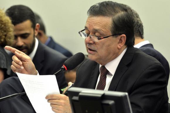 Jovair Arantes apresentou parecer favorável à continuidade do processo de impeachment (foto Valter Campanato / AB)