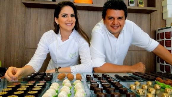 Marcos e Luana Lessa, da empresa Chor - Foto Maurício Maron (ASN)