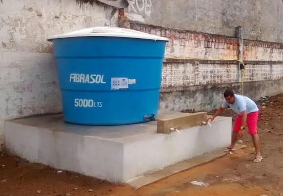 Poço tem vazão de quase 200 mil litros de água por dia (Foto Reprodução).