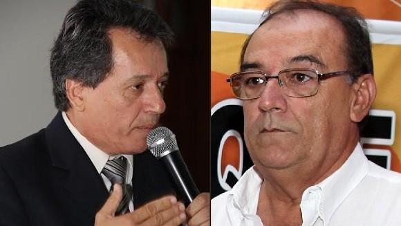 Deraldino escolhe Agnaldo Teixeira para disputar prefeitura (Fotos Marcos Japa e JpE Publicidade).
