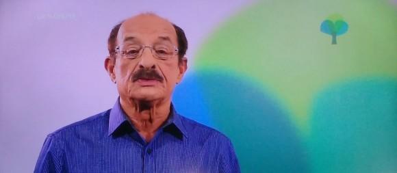Fernando Gomes em inserção do DEM na televisão (Reprodução Pimenta).
