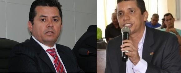 Aldenes e Jairo colhem assinaturas para instalar CEI