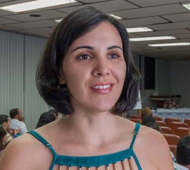 Angela trabalha na área de saúde em Itabuna (Foto Pedro Augusto).
