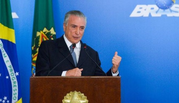 Temer é flagrado ordenado compra de silêncio de Cunha (Foto Antonio Cruz/Agência Brasil).