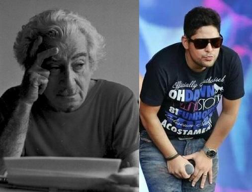 Jorge, o cantor, ficou decepcionado com o desinteresse de seus fãs ilheenses por Jorge, o escritor