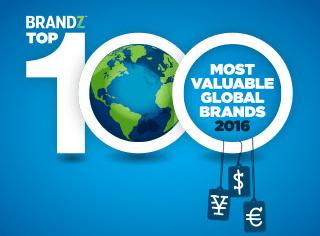 Anuário traz as marcas mais valiosas do mundo (Reprodução).