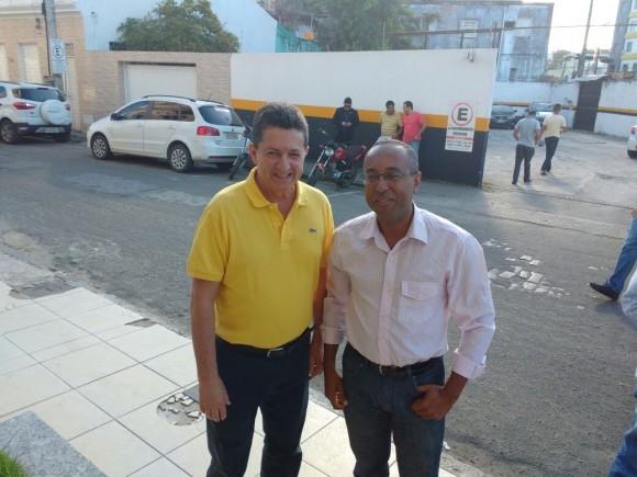 Serpa é o escolhido para a vice de Geraldo Simões pelo PSL.