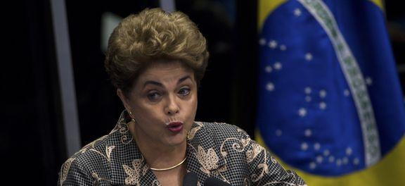 Dilma classifica impeachment sem crime como golpe de Estado (Foto Marcelo Campanato/AB).