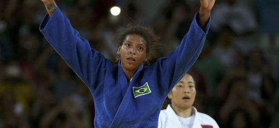 Rafaela Silva fatura ouro olímpico no Rio (Foto Agência Brasil).