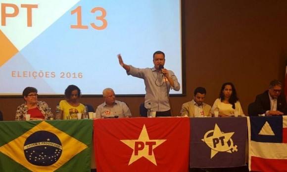 Encontro do PT reuniu candidatos a prefeito na Bahia (Foto Divulgação).