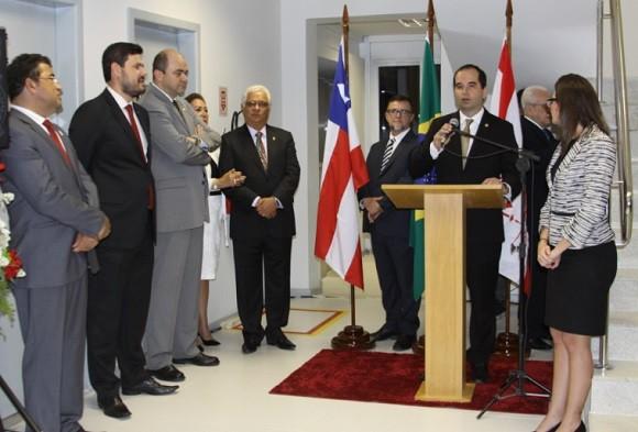 Autoridades inauguram nova sede do MPT em Itabuna.