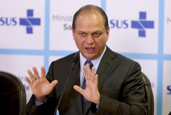 Ricardo Barros foi alvo de vaias no Nordeste  (Wilson Dias/Agência Brasil)