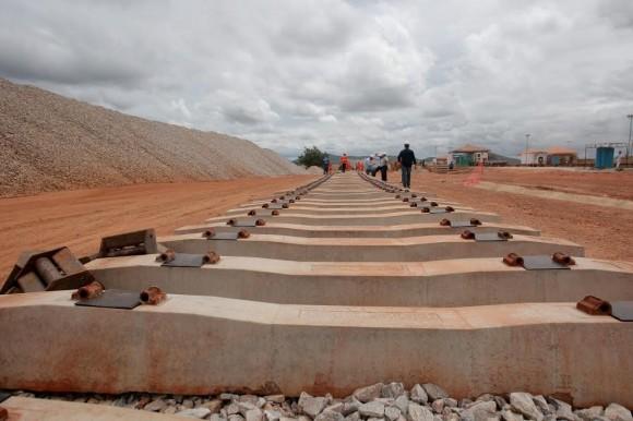 Valec é responsável pelas obras da Ferrovia Oeste-Leste || Foto Elói Corrêa