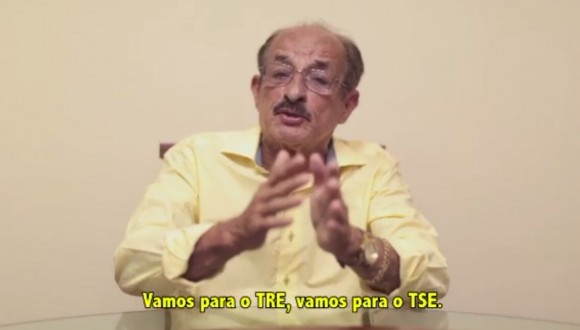 Fernando diz que manterá candidatura até o final (Reprodução).