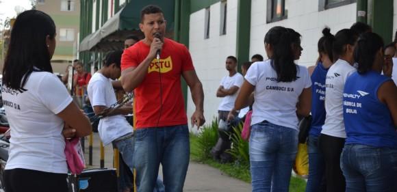 Zé Roberto (PSTU) tem encontro nos bairros e com juventude do seu partido.