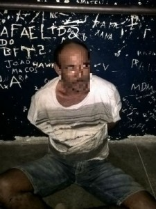 Homem é acusado de matar esposa a facadas (Foto PM-BA).