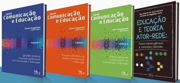 Obras abordam processos de comunicação e educação formal e não formal.