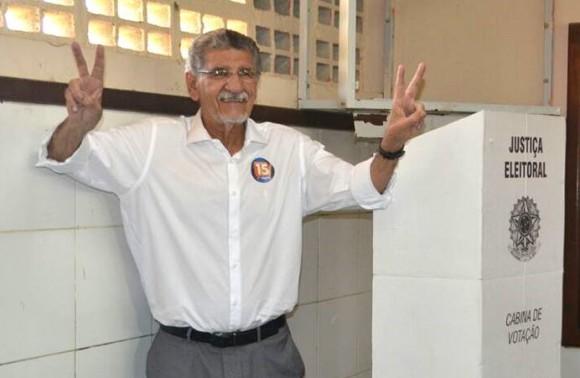Herzem venceu a eleição com mais de 25 mil votos de frente (Foto Divulgação).