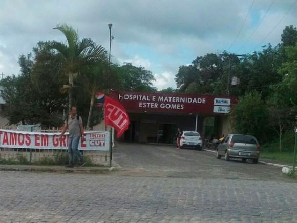 Maternidade tem atendimento novamente suspenso (Foto Divulgação).