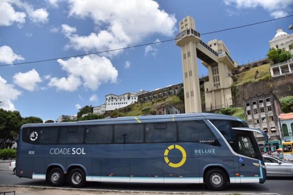 Ônibus da Cidade Sol circularão com nova identidade visual (Foto Divulgação).