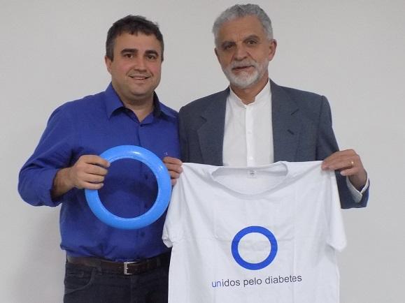 O coordenador do mutirão, Rafael Andrade, e o secretário de Saúde, Paulo Bicalho, ampliam parceria.