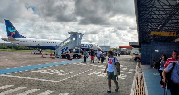Aeroporto de Ilhéus completa 79 anos nesta sexta (Foto Pimenta).