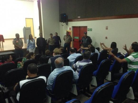 Audiência reuniu MP, bombeiros e empreendedores (Foto Divulgação).