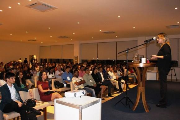 Maytê Carvalho, vencedora d´O Aprendiz, foi uma das palestrantes (Foto Josivaldo Dias).