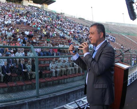 Rui Costa nega intenção de privatizar a Embasa (Foto Manu Dias).