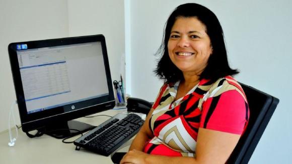 Claudiana Figueiredo é coordenadora regional do Sebrae, que apoio o evento (Foto Bahia Online).