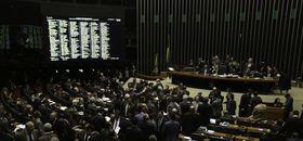 Plenário da Câmara (Foto Fábio Pozzebom).