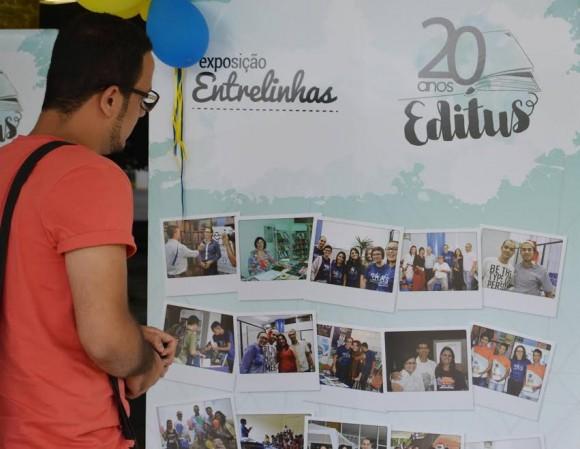 Exposição conta história e revela personagens dos 20 anos da Editus.