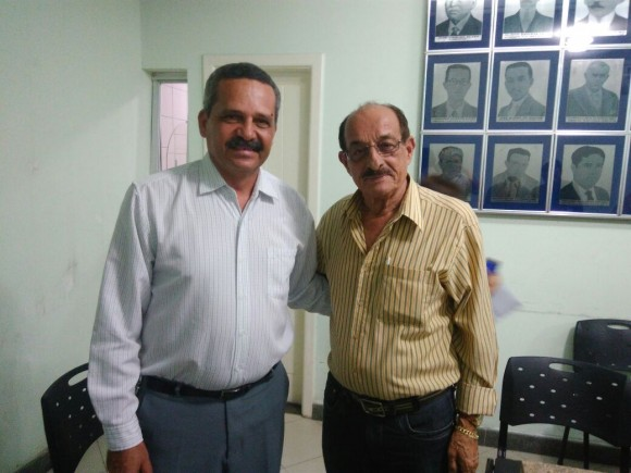 Vane recebe prefeito eleito, Fernando Gomes.
