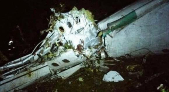 Avião da Lamia não respeitou plano de voo (Foto Divulgação).